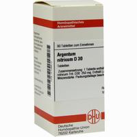 Argentum Nitricum D30 Tabletten  80 Stück