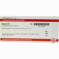 Arnica D12  Ampullen 10X1 ML