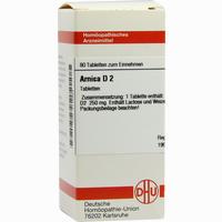 Arnica D2  Tabletten 80 Stück
