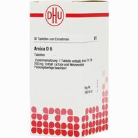 Arnica D6  Tabletten 80 Stück