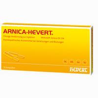 Arnica Hevert  Ampullen 10 Stück