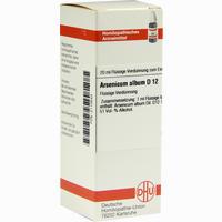 Arsenicum Album D12  Dilution 20 ML