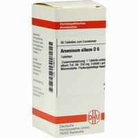 Arsenicum Album D6  Tabletten 80 ST