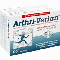 Abbildung von Arthri- Verlan Tabletten 200 Stück