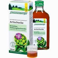 Abbildung von Artischockensaft Schoenenberger  200 ml