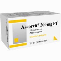 Abbildung von Ascorvit 200mg Ft Filmtabletten 50 Stück