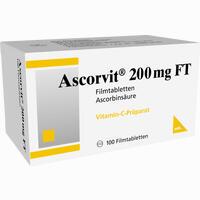 Ascorvit 200mg Ft  Filmtabletten 100 Stück