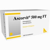Abbildung von Ascorvit 500mg Ft Filmtabletten 100 Stück