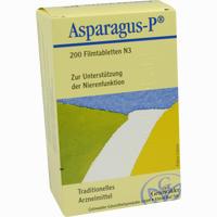 Abbildung von Asparagus P Tabletten 200 Stück