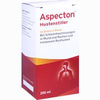Abbildung von Aspecton Hustenstiller Saft 200 ml