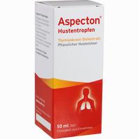 Abbildung von Aspecton Hustentropfen  50 ml