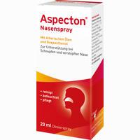 Abbildung von Aspecton Nasenspray  20 ml