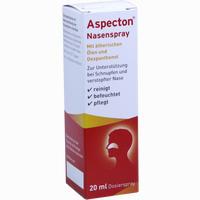 Abbildung von Aspecton Nasenspray  Krewel meuselbach 20 ml