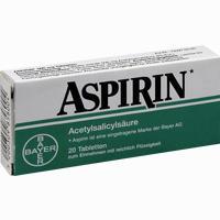 Aspirin 500mg Tabletten   20 Stück