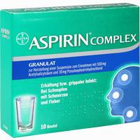 Aspirin Complex Beutel  Granulat 10 Stück