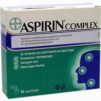 Aspirin Complex Granulat Beutel  Emra-med 10 Stück