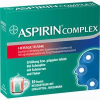 Aspirin Complex Heissgetränk  Beutel 10 Stück