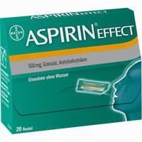 Abbildung von Aspirin Effect Granulat  20 Stück