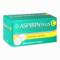 Abbildung von Aspirin Plus C  Brausetabletten 20 Stück