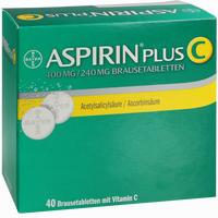 Aspirin Plus C  Brausetabletten 40 Stück