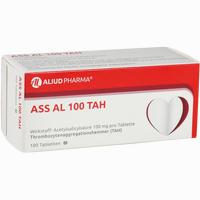 Ass Al 100 Tah  Tabletten 100 Stück