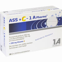 Ass + C - 1 A Pharma  Brausetabletten 20 Stück