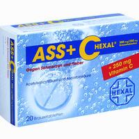Ass + C Hexal Gegen Schmerzen Und Fieber Brausetabletten 20 Stück