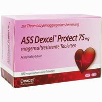 Abbildung von Ass Dexcel Protect 75mg Tabletten 100 Stück