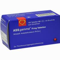 Ass-gamma 75mg Tabletten   100 Stück