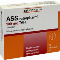Ass-ratiopharm 100 Tah  Tabletten 50 Stück