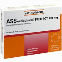Ass-ratiopharm Protect 100mg  Tabletten 100 Stück