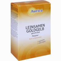 Aurica Leinsamen Goldgelb Geschrotet 500 G