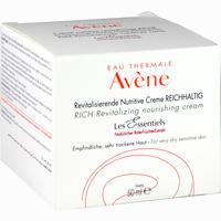 Abbildung von Avene Les Essentiels Revitalisierende Nutritive Creme reichhaltig  50 ml
