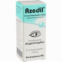 Abbildung von Azedil 0.5 Mg/ml Augentropfen  6 ml