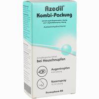 Abbildung von Azedil 0.5 Mg/ml Augentropfen + 1mg/ml Nasenspray Kombipackung  1 Stück