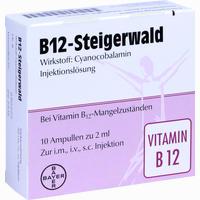 B-12 Steigerwald Injektionslösung  10X2 ml