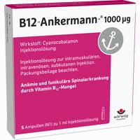 Abbildung von B12 Ankermann 1000ug Ampullen 5 x 1 ml