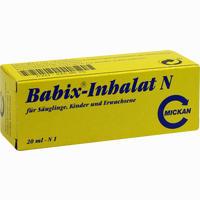 Babix-inhalat N  Inhalation 20 ml