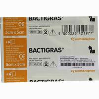 Bactigras 5x5cm Paraffingaze  Wundgaze 1 Stück
