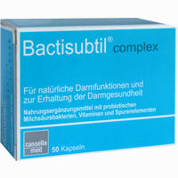 Abbildung von Bactisubtil Complex Kapseln 50 Stück