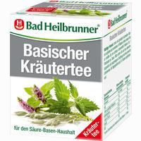 Bad Heilbrunner Basischer Kräutertee  Filterbeutel 8 Stück