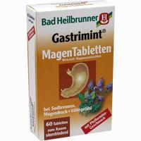 Bad Heilbrunner Gastrimint Magen Tabletten  Kautabletten 60 Stück