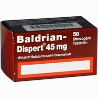 Baldrian Dispert 45mg  Tabletten 50 Stück