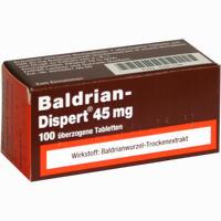 Abbildung von Baldrian Dispert 45mg Tabletten 100 Stück