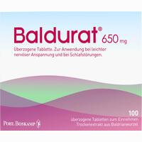 Abbildung von Baldurat Filmtabletten 100 Stück