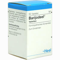 Abbildung von Barijodeel Tabletten 50 Stück