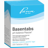 Basentabs Ph-balance Pascoe  Tabletten 200 Stück