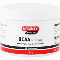 Bcaa 1200mg Megamax  Tabletten 100 Stück