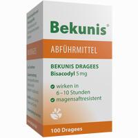 Abbildung von Bekunis Dragees Bisacodyl 5mg Tabletten 100 Stück