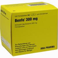 Abbildung von Benfo 300mg Filmtabletten  100 Stück